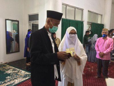 Acara Pernikahan Merbot DKM Masjid Agung Syekh Quro